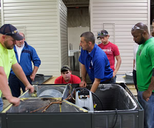 hvac hands on training
