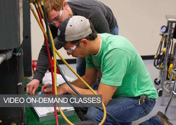 hvac training classes